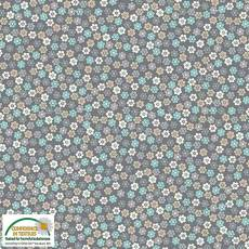Quilters Combination fleur grey