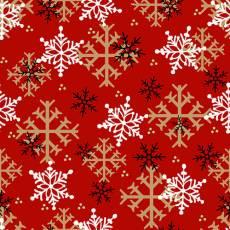 Timber Gnomies Snowfllake red