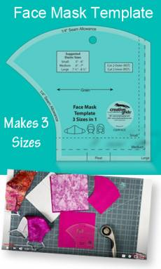 Creative Grids Face mask ruler