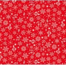 Scandi 2020 Snowflake red