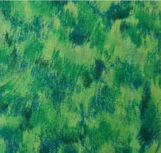 Painting blue green