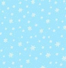 Gnoming through the snow - Blue