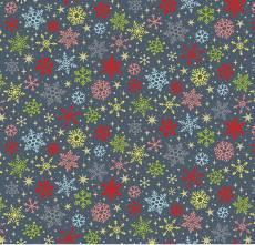 Joy Snowflakes blue