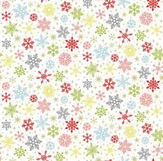 Joy Snowflakes nature multi