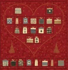 Magic Christmas Adventskalender red heart