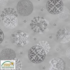 Magic Christmas grey tree balls