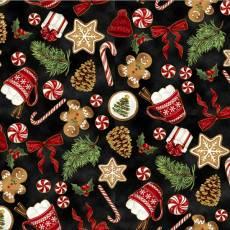 Christmas blenders santas sweets gingermen