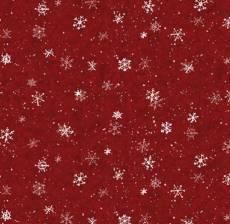Evergreen Farm snow red