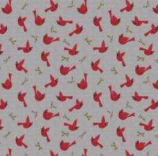 Cozy Critters Cardinals grey