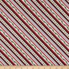 Cozy Critters Ticking stripe
