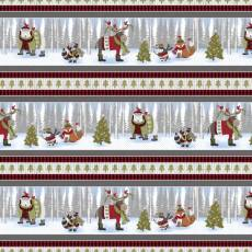 Cozy Critters Christmas border