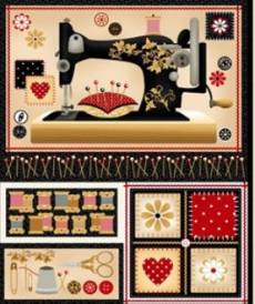 Sewing mends panel