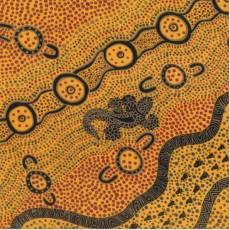 Aborigines - Goana Dreaming yellow