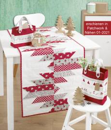Anleitung - Country Christmas Tischläufer