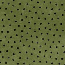 Maywood Flanell woolies dots green
