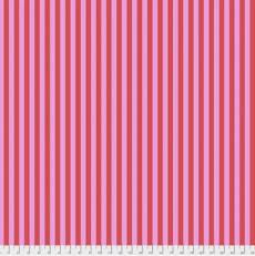 Tula Pink Tent Stripe poppy