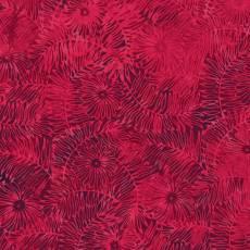 Bali Batik red velvet