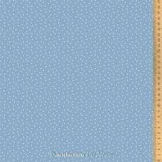 Acufactum Tupfen graublau weiß