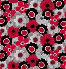 Red alert floral