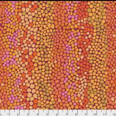 Kaffe Fassett Pebble mosaic rust