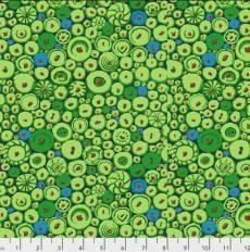 Kaffe Fassett Buttons mosaic green