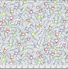 Kaffe Fassett Flower mosaic white