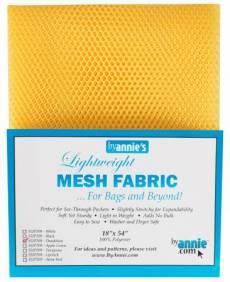 by annie Mesh fabric dandelion