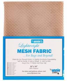 by annie Mesh fabric natural