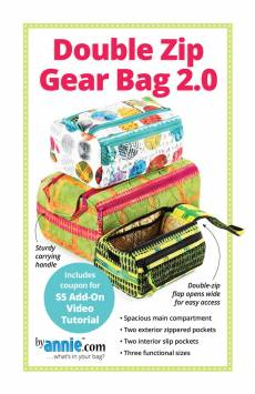 by annie - Double Zip Gear Bag 2.0