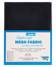 by annie Mesh fabric navy