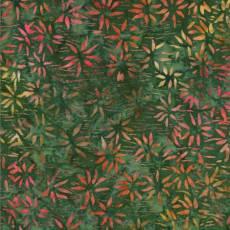 Bali Batik bamboo green multi