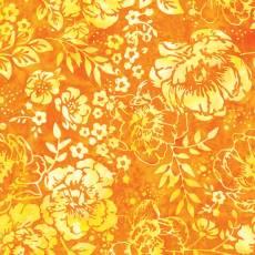 Bali Batik yellow rose