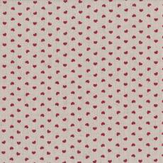 Shabby Chic 18 red hearts