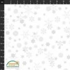 Christmas is near white snow