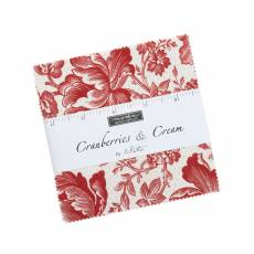 Cranberries cream Charm pack