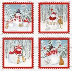 Welcome Winter Pillow Panel