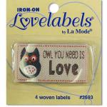 Love labels - Owl you need ist love