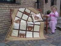Quilt Teddy window