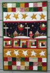 Santas Night Wandquilt