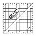 Bloc Loc Half Square triangle 5,5 inch