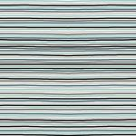 Avalana Jersey stripe multi blue green