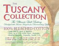 Tuscany 100% Bleached Cotton Queen
