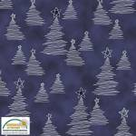 Christmas Wonders  Blue trees