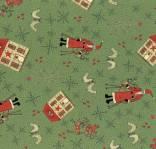 Lynette Anderson - Scandinavian Christmas alllover green