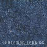 Hoffmann Bali Batik dots blue