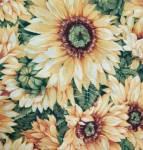 Through the garden sunflower