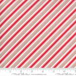 Merry and Bright diagonal stripe